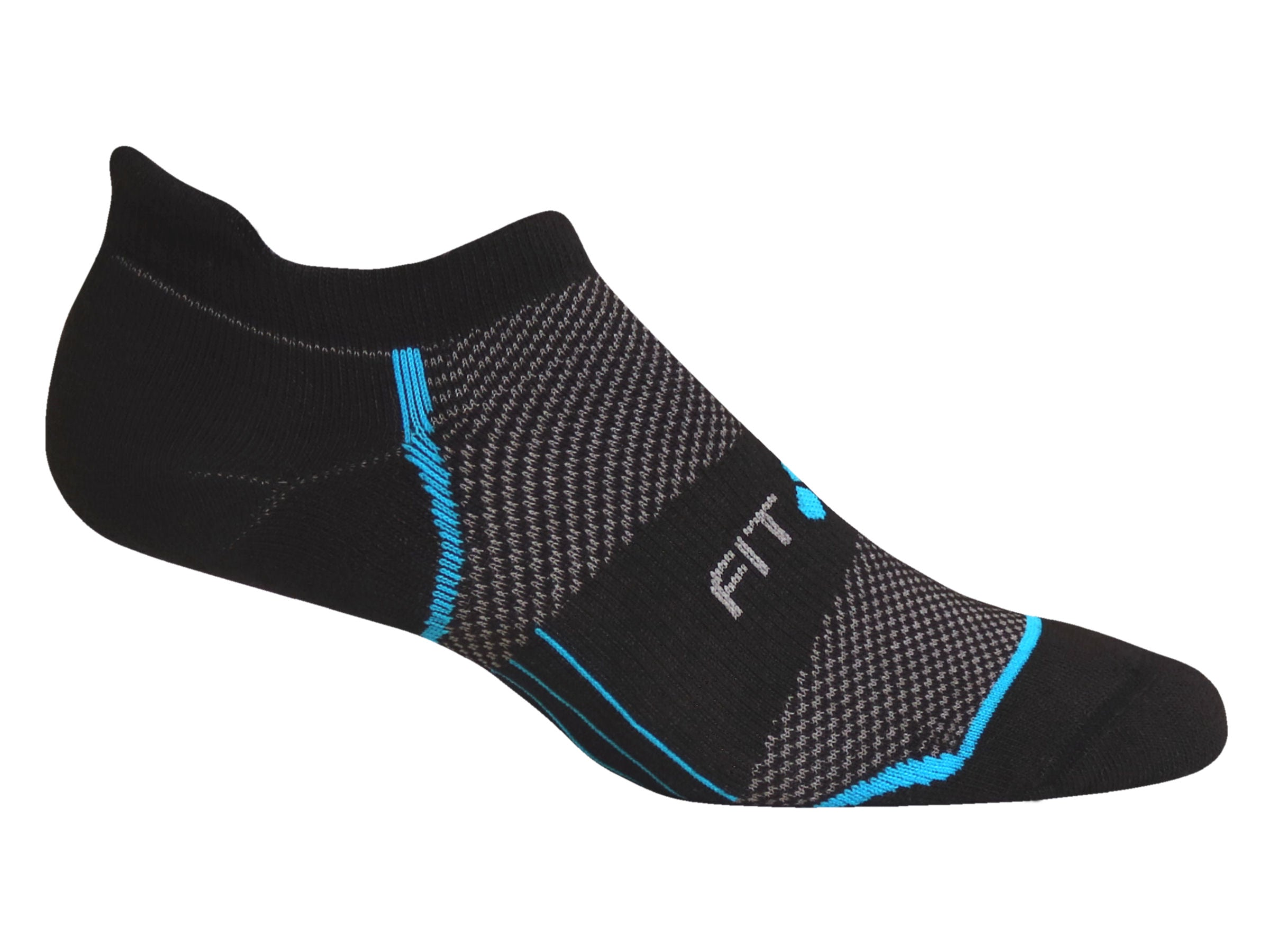 SR8 Mid-weight Tab (Black & Flash Blue)
