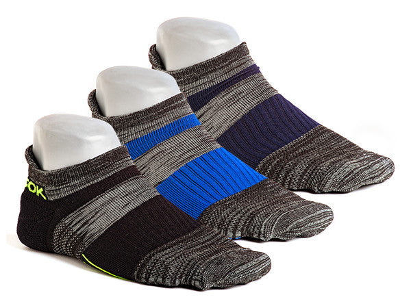 Q5 No-Show Charcoal (3 pair pack)
