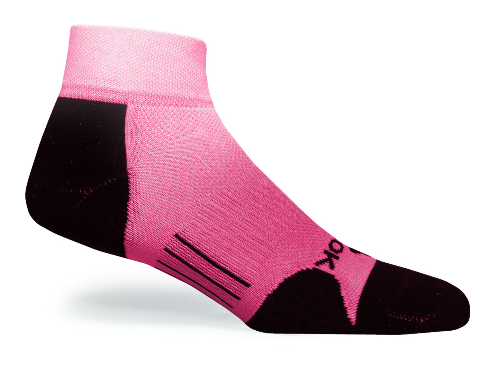 F360 Active Quarter Pink Fade (1 Pair Pack)