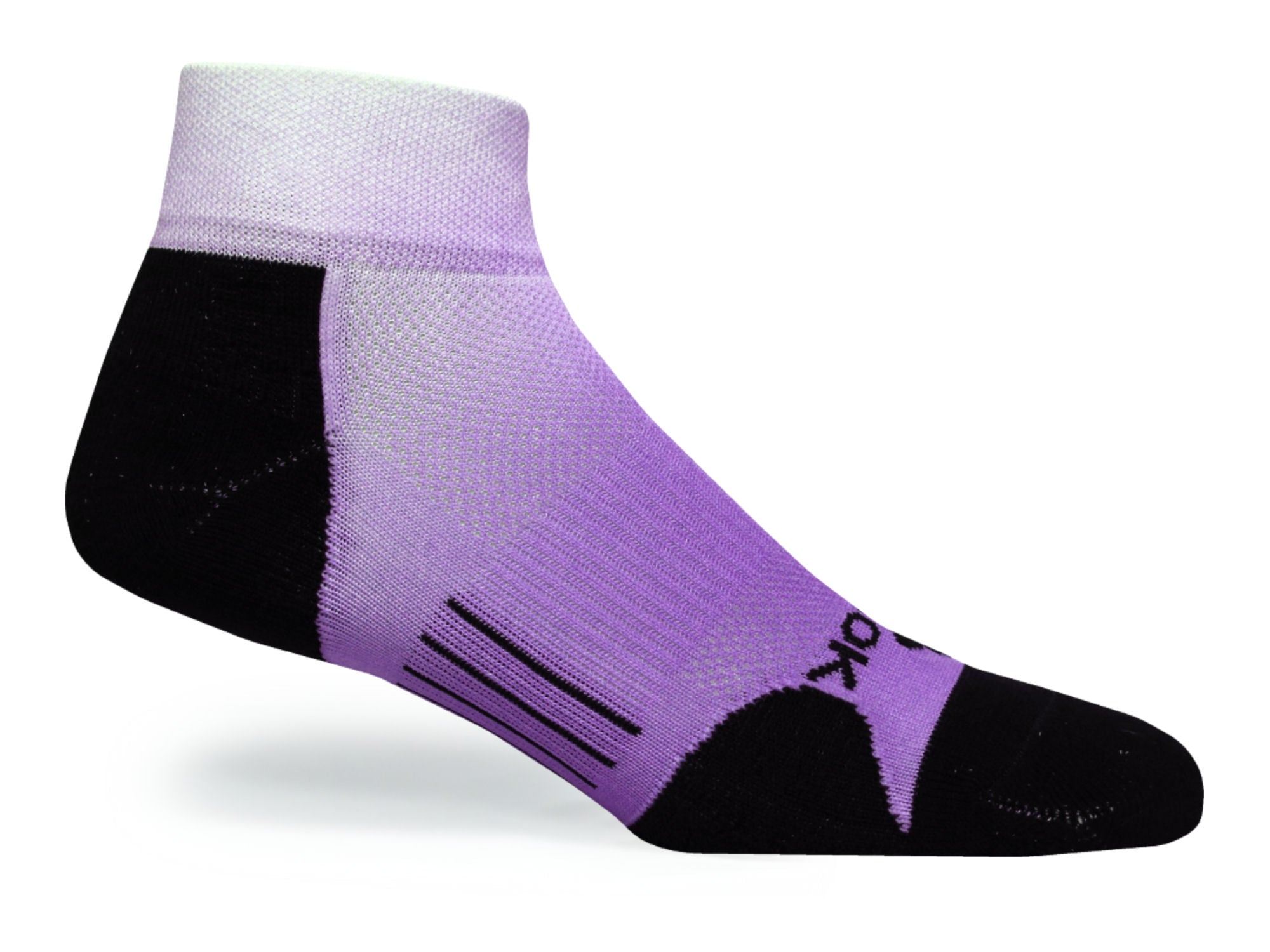 F360 Active Quarter Purple Fade (1 Pair Pack)