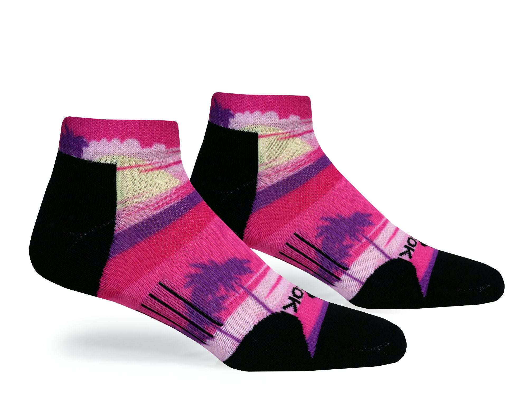 F360 Active Low Cut Sunset Drive Pink (1 Pair Pack)