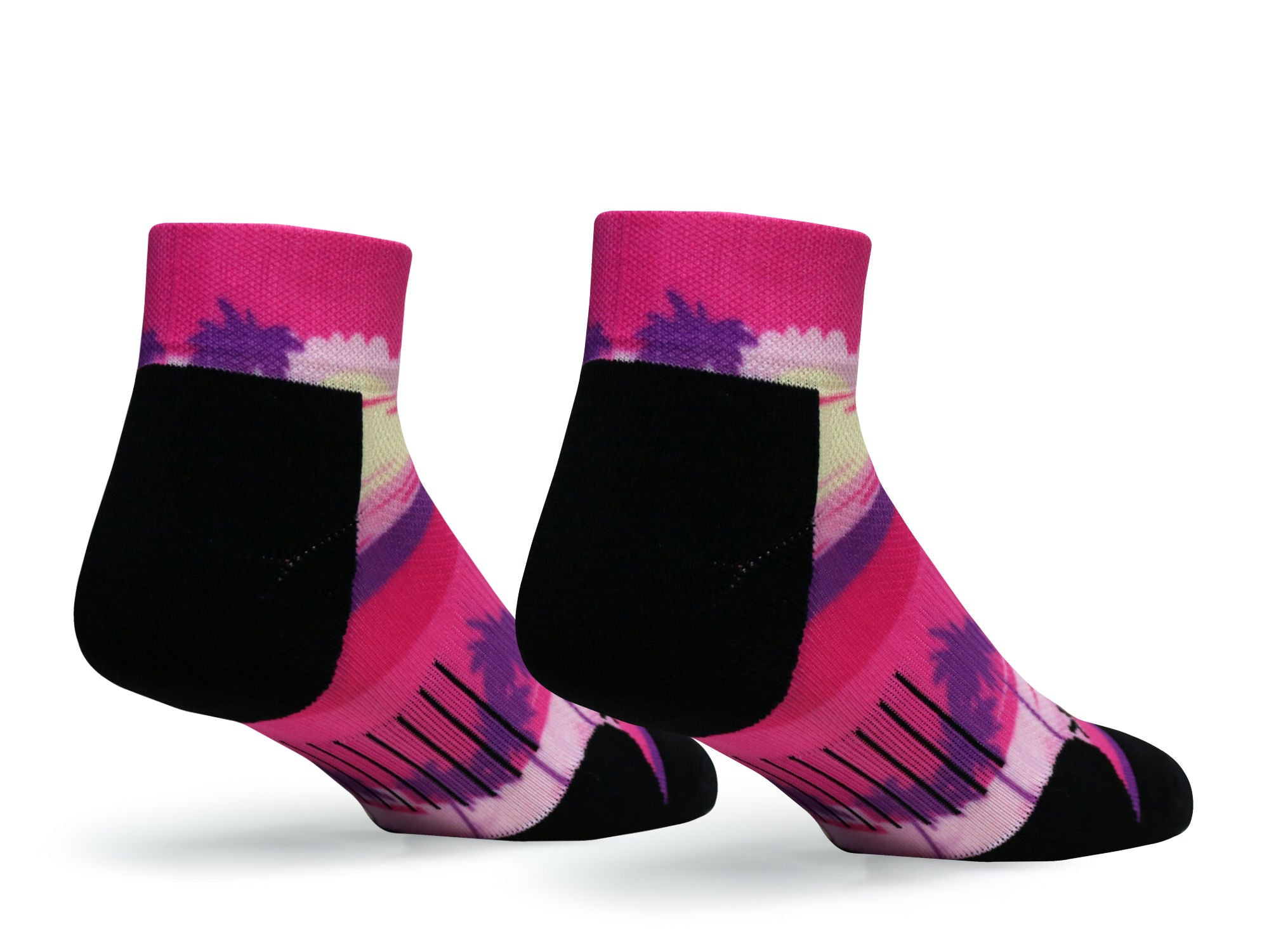F360 Active Quarter Sunset Drive Pink (1 Pair Pack)