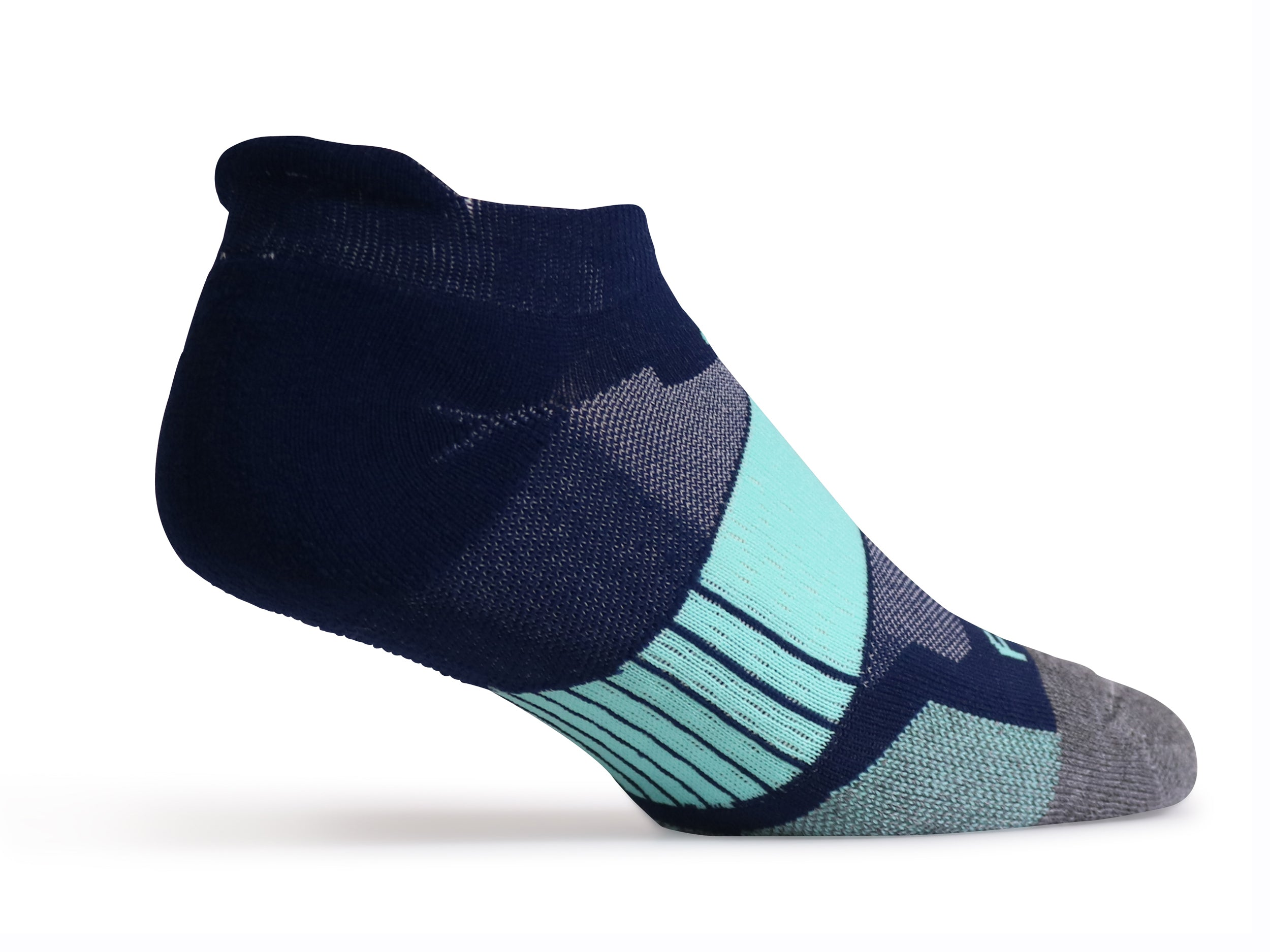 NP7 Mid-weight Tab (Navy & Mint) - Fitsok.com