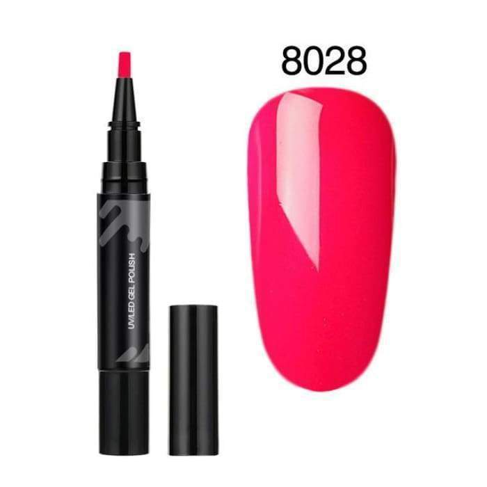 Classic Nail Gel Pen 8028 matching-contrast