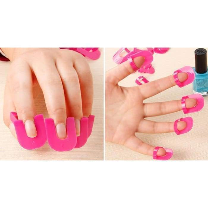 Finger Clips matching-contrast