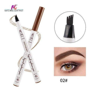 Microblading Eyebrow Pen 02 Brown matching-contrast