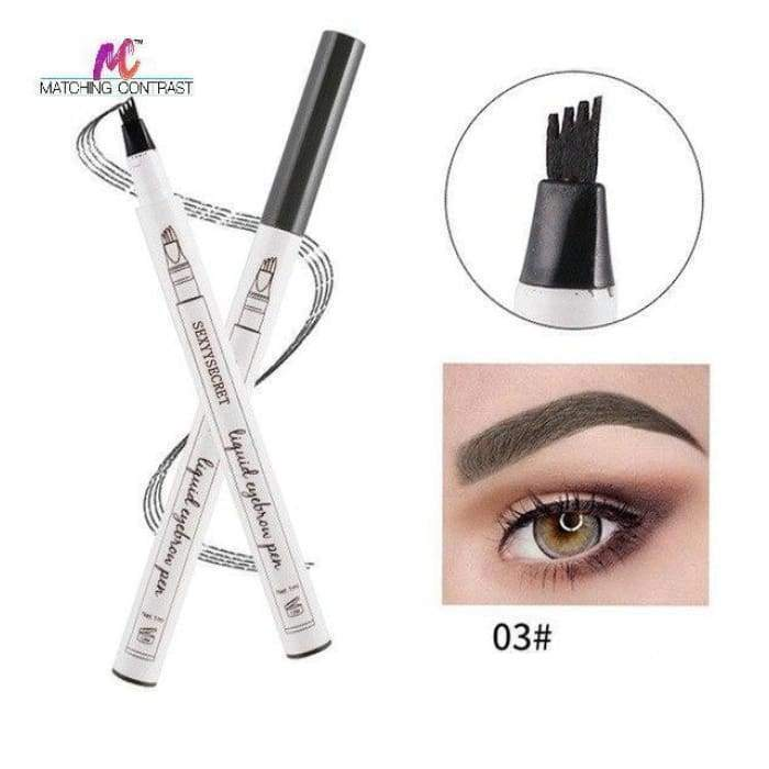 Microblading Eyebrow Pen 03 Dark gray matching-contrast