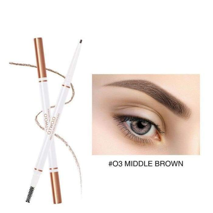 Precision Brow Definer 03 middle brown matching-contrast