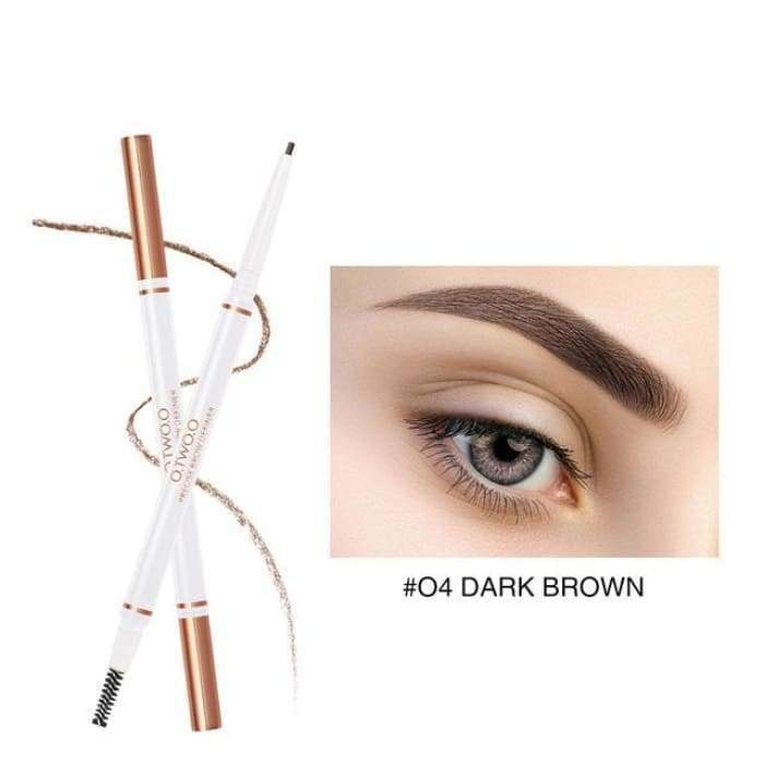 Precision Brow Definer 04 dark brown matching-contrast