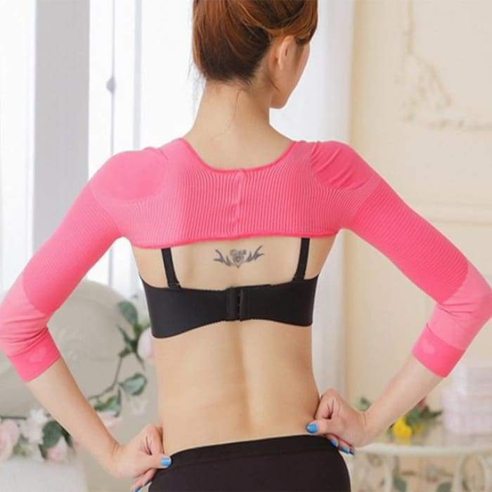 SlimFit™ Arm Shaper Pink / L matching-contrast