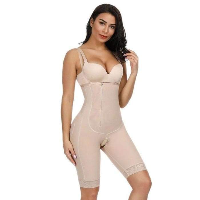 SlimFit™ Bodysuit Skin / S matching-contrast
