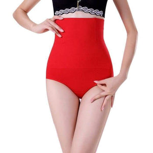 SlimFit™ High-Waist Panty Style Red / M - L matching-contrast