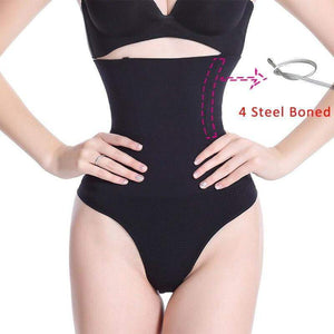 SlimFit™ High-Waist Shaper Thong matching-contrast