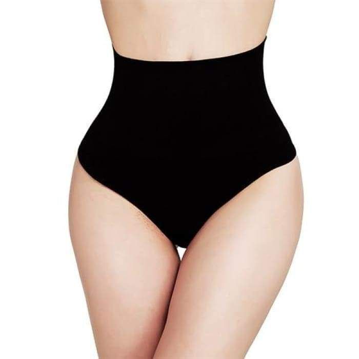 SlimFit™ Thong Style Black / XXL matching-contrast