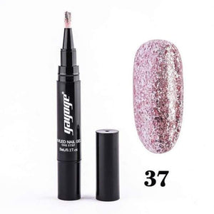 Sparkling Nail Gel Pen 37 matching-contrast