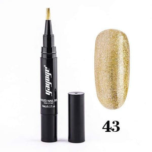 Sparkling Nail Gel Pen 43 matching-contrast
