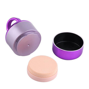 Vibrating Makeup Applicator Puff matching-contrast