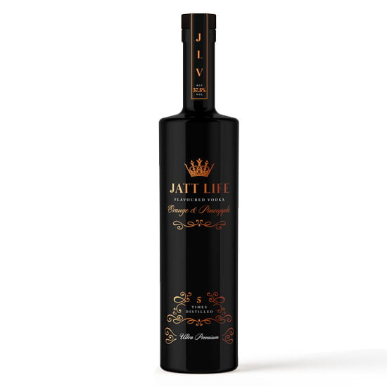 JATT LIFE Vodka 70cl – Orange & Pineapple - Bristol Booze
