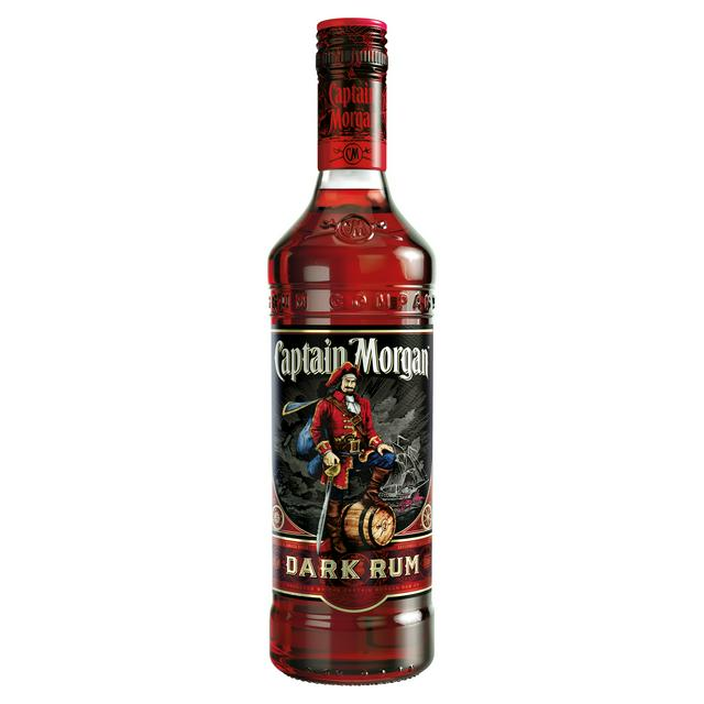 Captain Morgan Dark Rum - 70cl - Bristol Booze - Alcohol Delivery Bristol