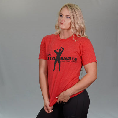 Red Keto Savage Shirt (Unisex)