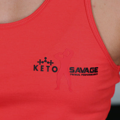 Red Athletic Keto Savage Stringer