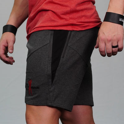 Gray Keto Savage Shorts