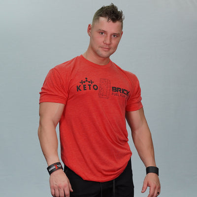 Red Keto Brick Shirt (Unisex)