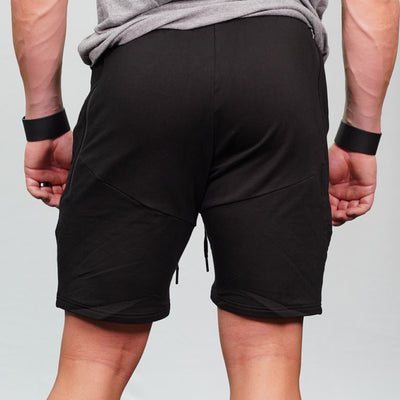 Black Keto Savage Shorts