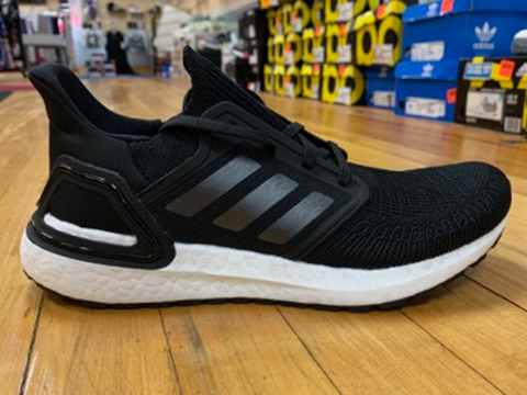 Women's Adidas Ultra Boost 2020 - Black/Grey/White
