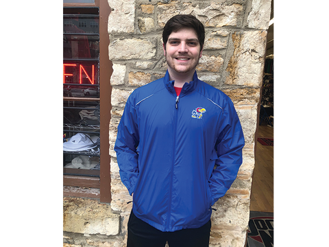 KU Jayhawk Motivate Jacket - Royal