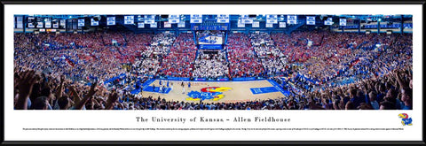 Kansas Jayhawks Allen Fieldhouse Picture (vs Kentucky)