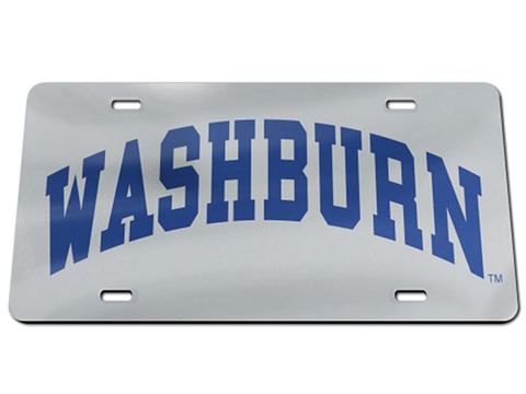 WASHBURN ARCH LICENSE PLATE