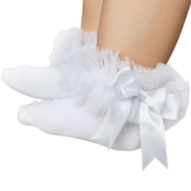 Baby Girls Ankle Bow Socks