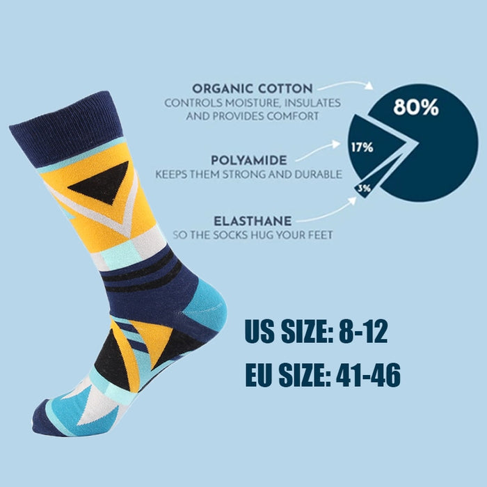 7 Pieces No Pairing Unique Designer Socks