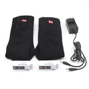 Black Electric Heated Socks