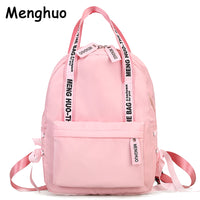 Women Backpack - Menghuo Preppy School Bags For Teenagers Travel Bags - ArtOfExpo