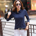 Polo Women - Long Sleeve Cotton Polos Casual Tops - ArtOfExpo