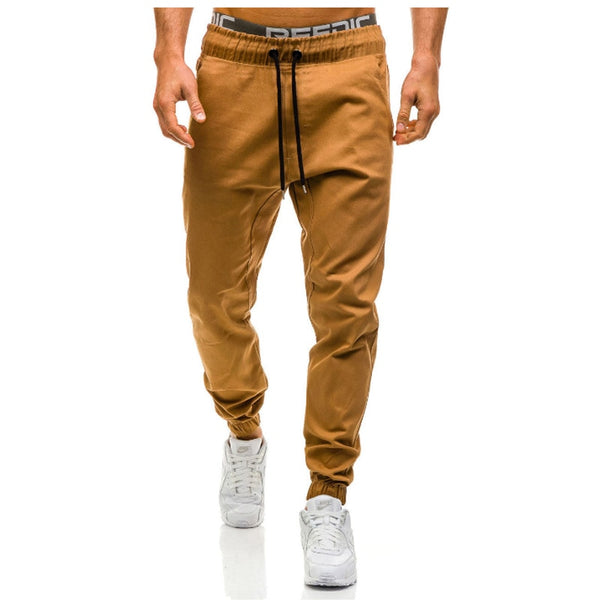 Man's Trousers - Pants Hip Hop Harem Joggers Pants  Solid Sweatpants - ArtOfExpo