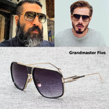 Men's sunglasses - JackJad Fashion Brand Design Grandmaster Five Aviation Vintage Classic Quality - ArtOfExpo