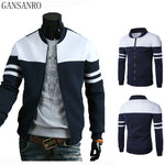 Men's Jackets - Casual Preppy Style Male Jacket Men Coat - ArtOfExpo
