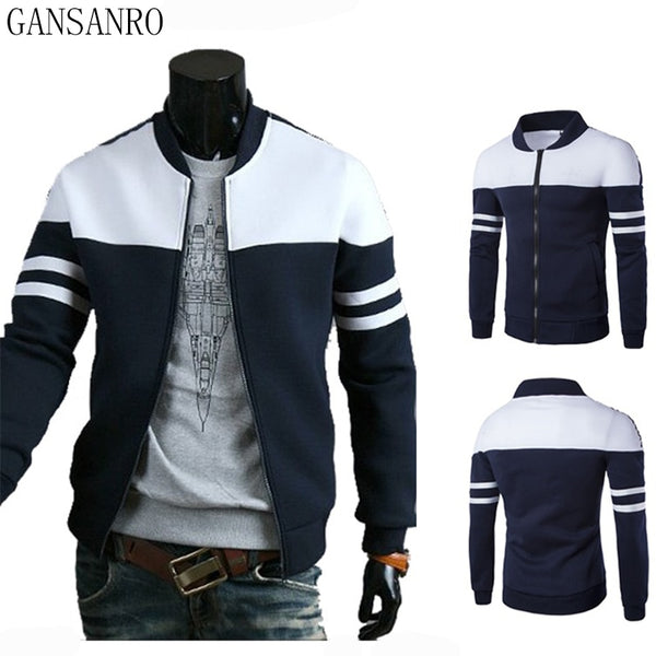 Men's Jackets - Streetwear Casual Preppy Fashion Men Jacket Men Coat - ArtOfExpo