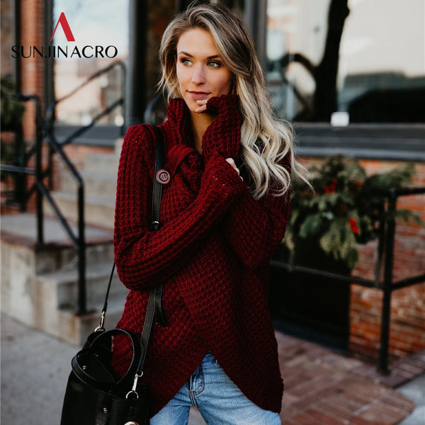 Women Sweater  - Autumn Winter Fashion 2018 Ladies Slim