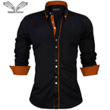 Men's Shirts -New Arrivals Slim Fit Long Sleeve - ArtOfExpo