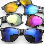 Men's Women's Sunglasses - Retro Polarized Sunglasses Mercury Mirror UV Protection - ArtOfExpo