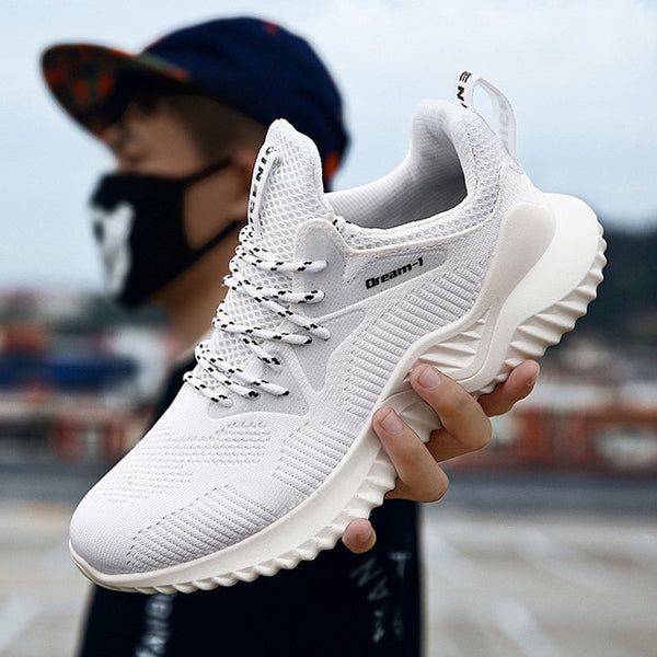 Men's shoes - Breathable Sneakers Coconut Foot Comfort Travel Fitness - ArtOfExpo