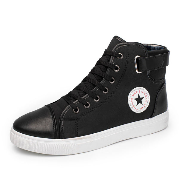 Men's shoes - Vulcanize Sneakers Trainers Lace-up Sport Canvas - ArtOfExpo