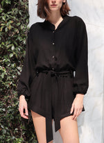 Load image into Gallery viewer, Delphine Playsuit - Midnight