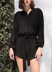Delphine Playsuit - Midnight