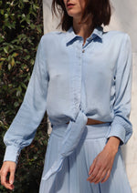 Load image into Gallery viewer, Jolie Blouse - Celestial Blue