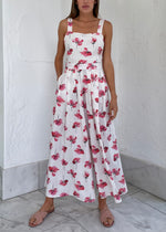 Load image into Gallery viewer, Parisienne Jumpsuit - Pink Floral
